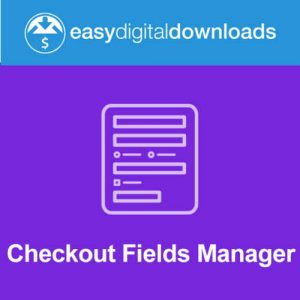 Easy Digital Downloads Checkout Fields Manager
