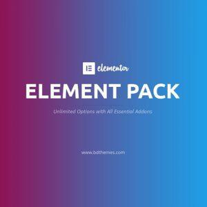 Element Pack – Addon for Elementor