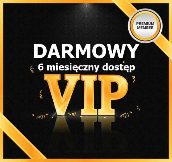 6 miesięczne członkostwo VIP