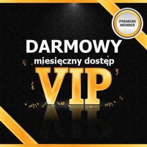 Członkostwo miesięczne VIP