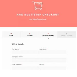 ARG Multistep Checkout for WooCommerce
