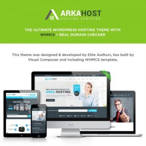 Arka Host - WHMCS Hosting Shop & Corporate Theme