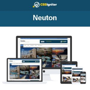 CSS Igniter Neuton WordPress Theme