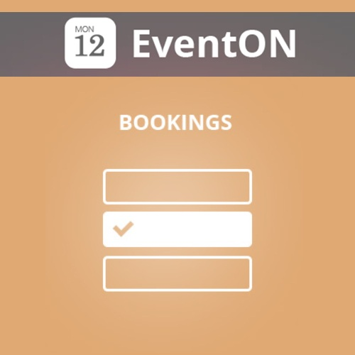 EventOn Bookings