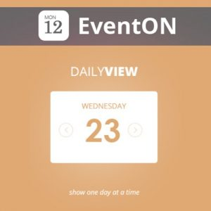 EventOn Daily View
