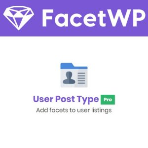 FacetWP - User Post Type pro