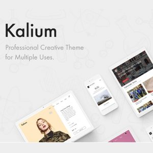 Kalium - Creative Theme for Professionals