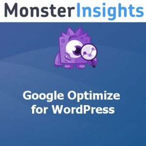 MonsterInsights – Google Optimize Addon