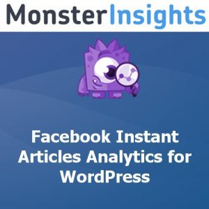 MonsterInsights Facebook Instant Articles Addon
