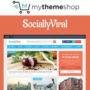 MyThemeShop SociallyViral WordPress Theme