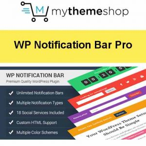 MyThemeShop WP Notification Bar Pro