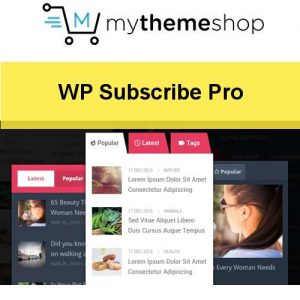 MyThemeShop WP Tab Widget Pro