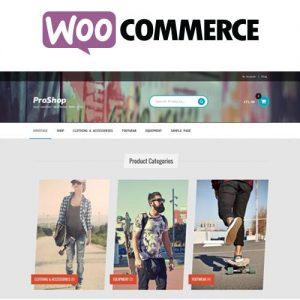 Proshop Storefront WooCommerce Theme