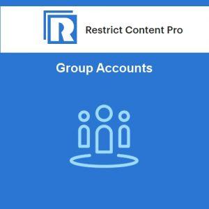 Restrict Content Pro Group Accounts