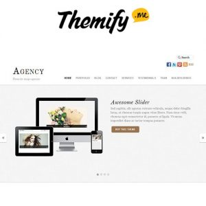 Themify Agency WordPress Theme