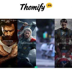 Themify Split WordPress Theme
