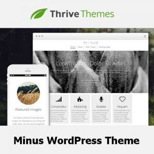 Thrive Themes Minus WordPress Theme