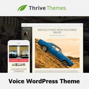 Thrive Themes Voice WordPress Theme