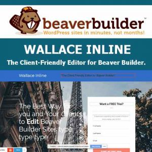 Wallace Inline - Front-end Content Editor for Beaver Builder
