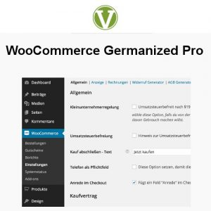 WooCommerce Germanized Pro