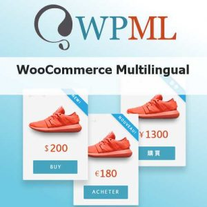 Woocommerce Multilingual