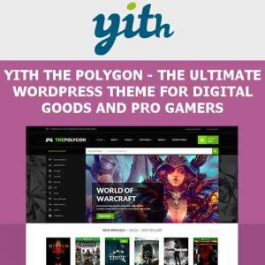 YITH The Polygon – WordPress Theme for Video Games