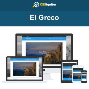 CSS Igniter El Greco WordPress Theme