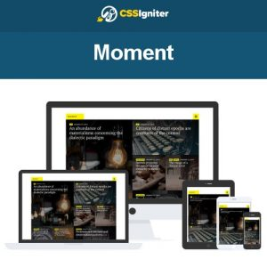CSS Igniter Moment WordPress Theme