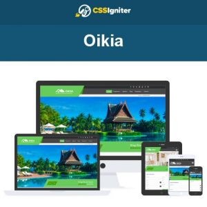 CSS Igniter Oikia WordPress Theme