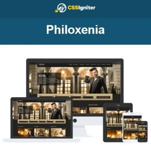 CSS Igniter Philoxenia WordPress Theme