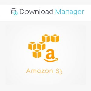 Download Manager Amazon S3 Storage