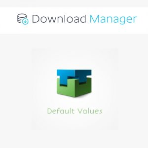 Download Manager Default Values