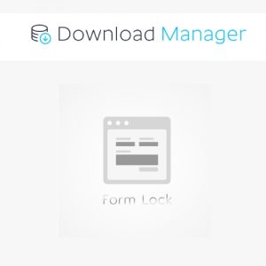 Download Manager Form Lock