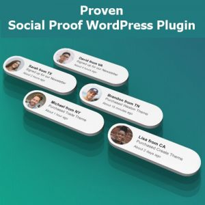 Proven - Social Proof WordPress Plugin
