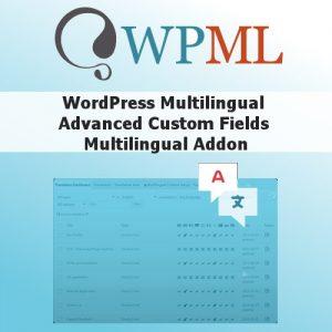 WordPress Multilingual Advanced Custom Fields Multilingual Addon