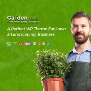 Garden HUB - Gardening Lawn & Landscaping WordPress Theme