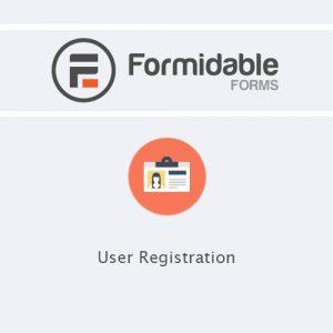 Formidable Forms - User Registration