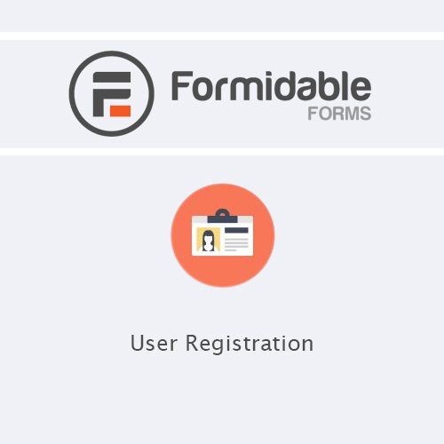 Formidable Forms - User Registration