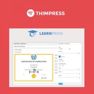 LearnPress - Certificates