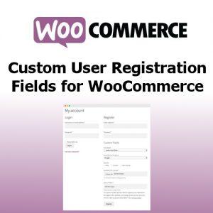 WooCommerce Custom User Registration Fields
