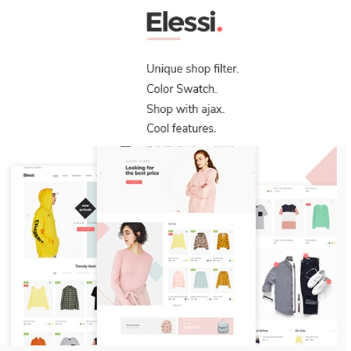 Elessi - WooCommerce AJAX WordPress Theme