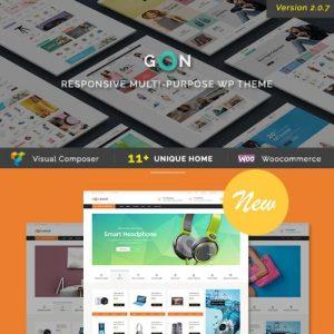 Gon - Responsive Multi-Purpose WordPress Theme