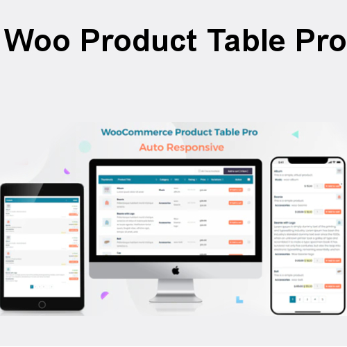 Woo Product Table Pro